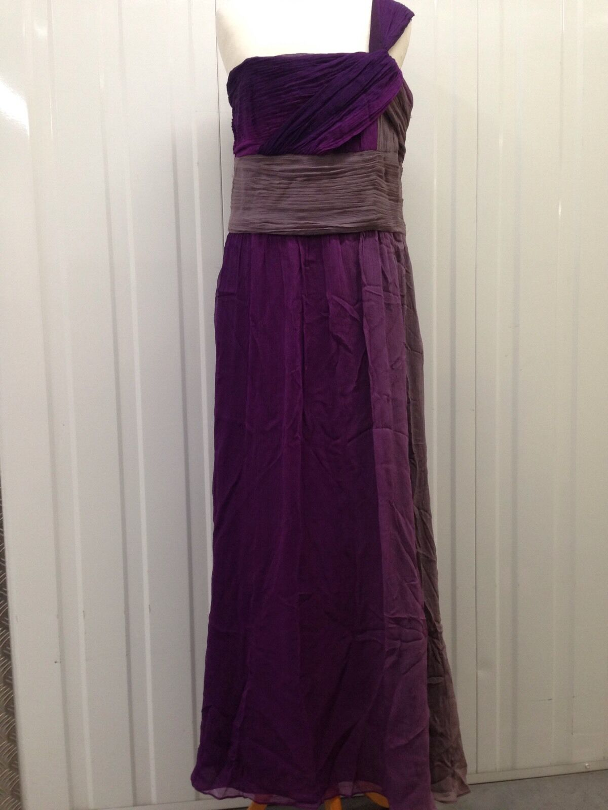 Women's Principles Long Purple Dress - Size Great Condition