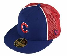 Chicago Cubs Fitted 59Fifty MLB Baseball Trucker Hat Cap by New Era