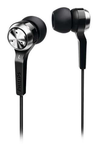1 von 1 - Philips SHE8500 Ohrhörer Kopfhörer in-Ear Schwarz Extra Bass 102 dB 50 mW
