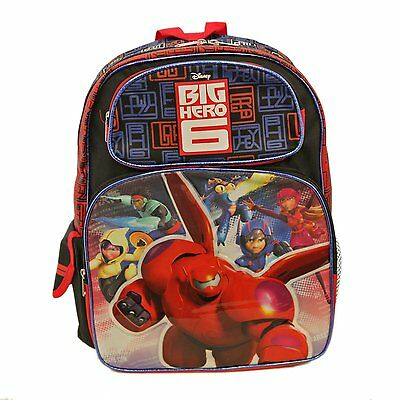 """Disney Big Hero 6 Large 16/"""" inches Rolling backpack BRAND NEW Licensed Product"""