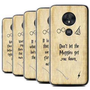 Gel-TPU-Case-for-Motorola-Moto-G7-Play-School-Of-Magic-Film-Quotes