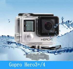 Waterproof Diving Housing Case for GoPro Hero 3+/4 Plus Accessory FAST SHIP MIR 6006372525237