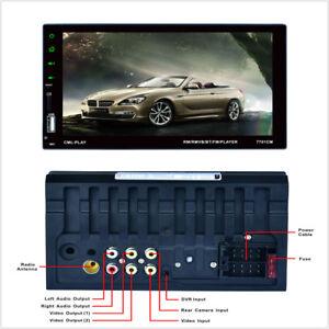 Car-Capacitive-Touch-Screen-Radio-Audio-Multi-language-FM-Bluetooth-MP5-Player