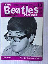 The Beatles Book Monthly No. 13 No.13 No13 August Aug 1964 Official Fan Magazine