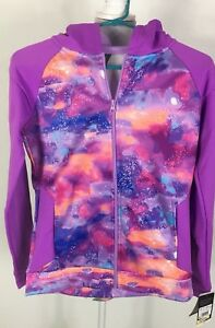 Champion-Girls-Jacket-XL-14-18-Running-Workout-Exercise-Multi-Colors-Galaxy-New