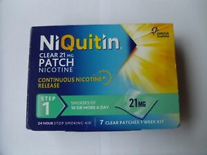 NIQUITIN-CLEAR-7mg-14mg-21mg-Patches-X-7-Choose-Strength