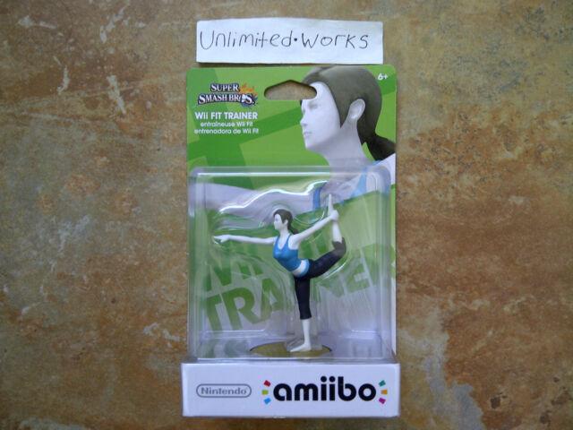 Super Smash Bros Amiibo (Wii Fit Trainer) Nintendo Wii U & 3DS New US Version