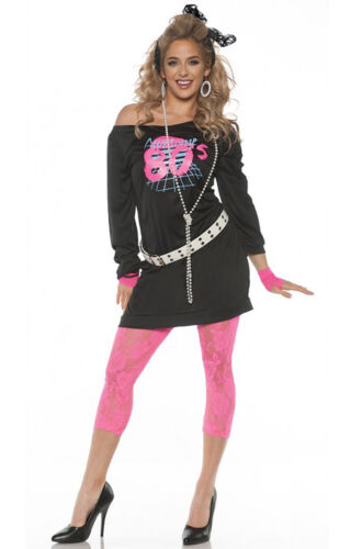 Brand New Retro Madonna Awesome 80/'s Adult Costume