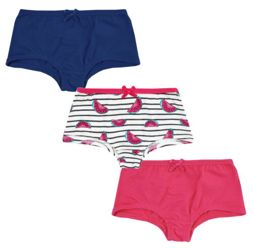 86-164 Kinder Unterwäsche kurze Unterhose Slip Jacky Mädchen Pantys 3er Pack Gr