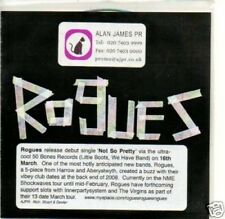 (257Q) Rogues, Not So Pretty - DJ CD