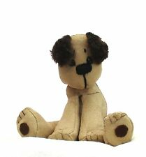 Packet puppy dog sewing pattern by pcbangles.  Soft toy dog sewing pattern