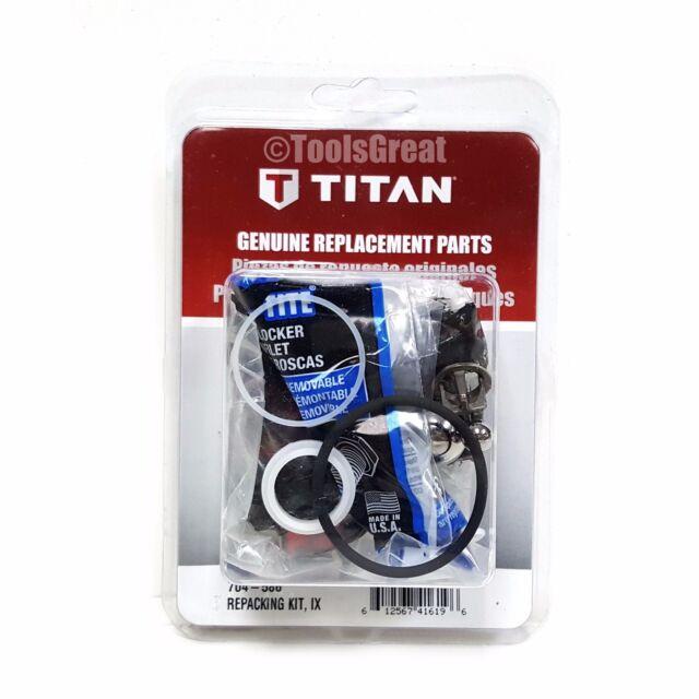 Titan Pump Packing Repair Kit 704-586 for Impact 440 640 540 Repacking Kit