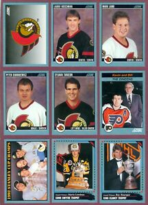 1992-93 SCORE CANADIAN NHL HOCKEY CARD 512-550 + SHARP SHOOTERS 1-30 SEE LIST