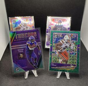2020 Optic Football - Minnesota Vikings Lot -Dalvin Cook Threads Mem Card + More