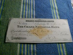 1882-FIRST NATIONAL BANK (NEW YORK)-CHECK