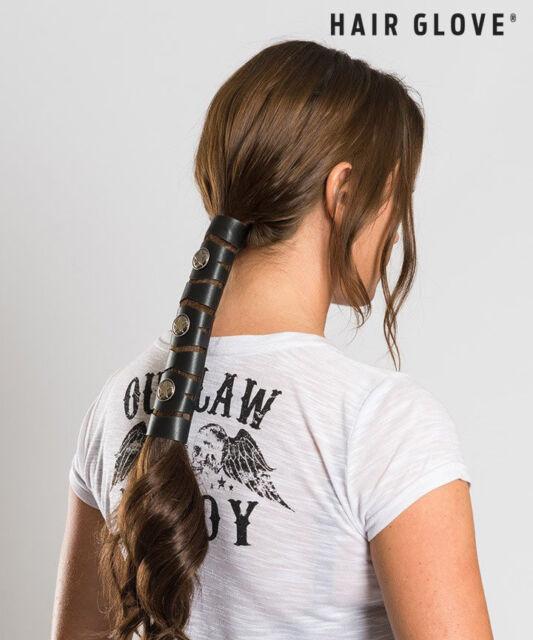 """Hair Glove® 8"""" Leather Diamond Cut-out Texas Star 38005 Biker ... 0a0ade623e8"""