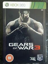 Gears of War 3 Xbox 360-Steelbook edición