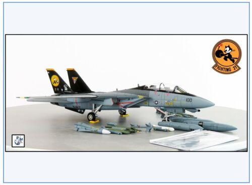 "Grumman F-14D Tomcat US NAVY VF-31 /""Tomcatters/"" NEU 8//2020/& Calibre Wings 1:72"