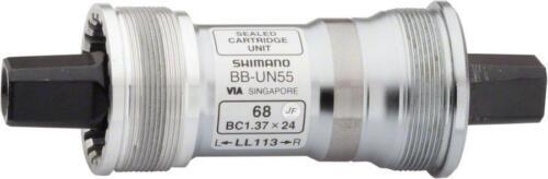 Shimano UN55 68 x 118mm Square Taper English Bottom Bracket
