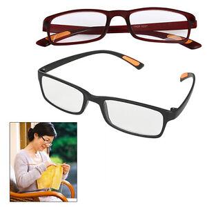 e1b6b93ecdf3 TR90 Reading Glasses 1.0 to 4.00 Unisex Mens Ladies Designer Spring ...