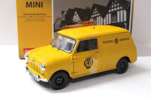 1963 New en Premium-modelcars Patrol Service 1:12 Sunstar austin mini van