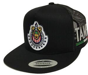 Chivas Ralladas De Guadalajara Tamaulipas A Lado 2 Logos Hat