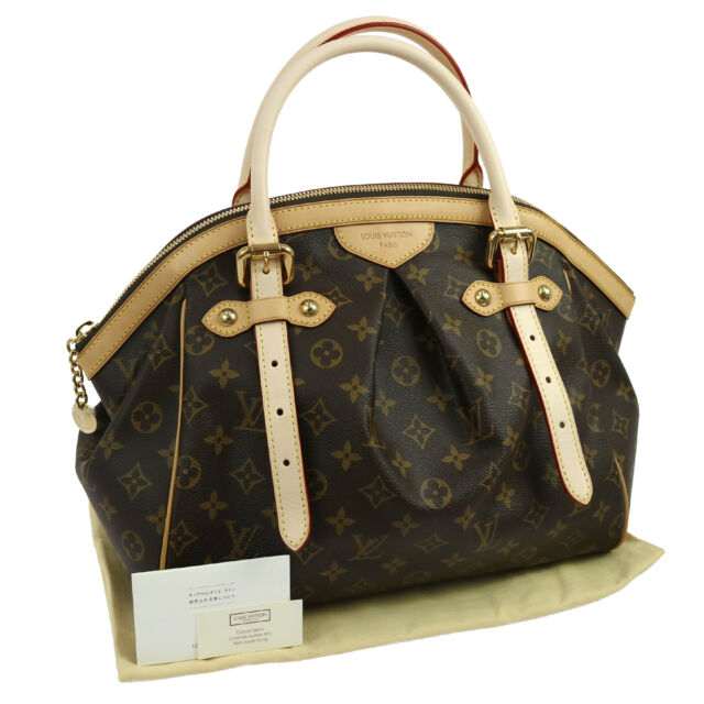 Authentic LOUIS VUITTON Tivoli GM Hand Bag Monogram M40144 GHW UNUSED JT05913
