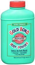 Gold Bond Medicated Body Powder, Extra Strength, 4 oz (113 g)