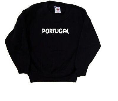 Il Portogallo testo Kids Felpa