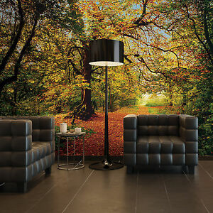 8 068 Komar Scenics 2 Autumn Forest Multicoloured Komar Wall Mural