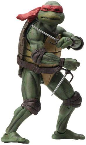 """NECA Teenage Mutant Ninja Turtles 1990 MOVIE UFFICIALE 7/"""" TMNT Action Figure UK"""