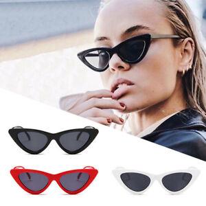 a1ec7a43ea Image is loading Vintage-Trendy-Cat-Eye-Sunglasses-Fashion-2018-Women-