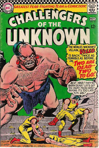 CHALLENGERS-OF-THE-UNKNOWN-52-1966-DC-Comics-VG
