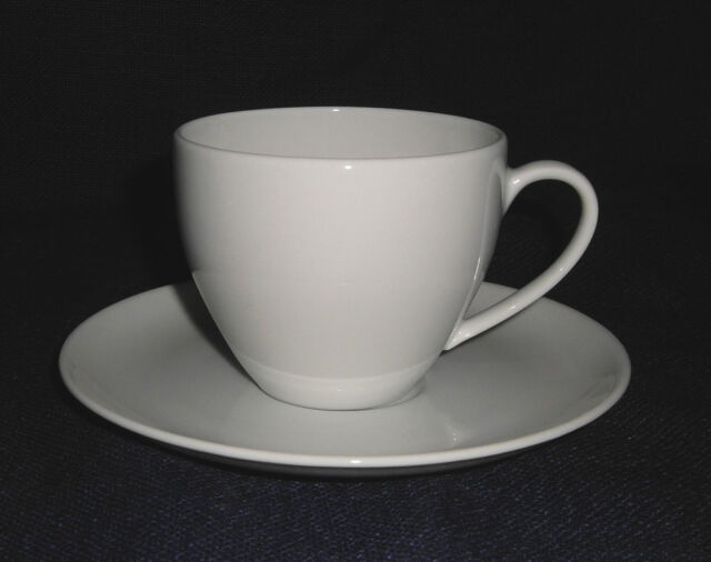 Arzberg Porzellan Form 2000 weiss Kaffeetasse 2 tlg