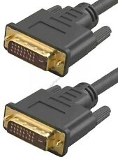 25ft DVI-D/DVID Cable/Cord,PC/DVD/DVR~HDTV/Plasma/LCD/Projector/Monitor$SHdis{DL