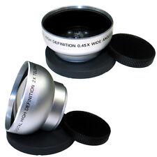 43mm Wide Angle + Tele Lens for Panasonic AG-HMC40,HMC70,HSC1U,HMC40,HDC-DX1,NEW