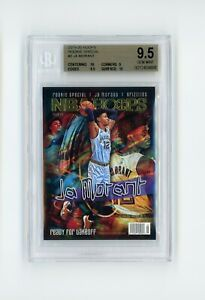 JA MORANT 2019-20 Hoops Rookie Special #2 Ready For Takeoff RC BGS 9.5 SP