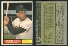 (48971) 1961 Topps 435 Orlando Cepeda Giants-EM