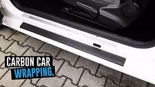 Seat Mii Einstiegsleisten 3D CARBON SCHWARZ CAR WRAPPING 5 Türer