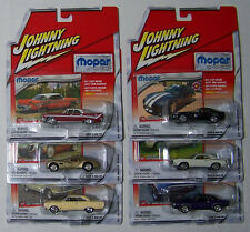 Johnny Lightning 1:64 Mopar or No Car - Release 5  Complete 6-Car Set