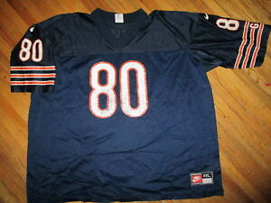 CHICAGO-BEARS-CURTIS-CONWAY-80-JERSEY-vtg-90s-Wide-Receiver-Football-XXL-2XL