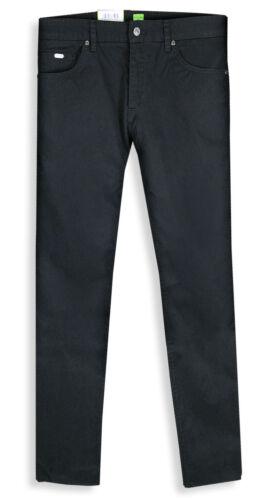 Hugo Boss Jeans Trousers C-Maine Black Gabardine 100/% Cotton
