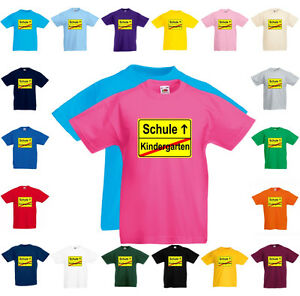 Fun T-shirt Enfants Jardin école Inscriptions Scolaires Toutes Les Tailles Et Couleurs Des Produits De Marque-afficher Le Titre D'origine