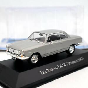 IXO-IKA-Torino-380-W-2-Puertas-1967-Silver-Diecast-Models-Limited-Edition-1-43