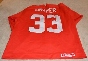 1998-KRIS-DRAPER-GAME-USED-DETROIT-RED-WINGS-JERSEY-COA-HOCKEYTOWN-AUTHENTICS