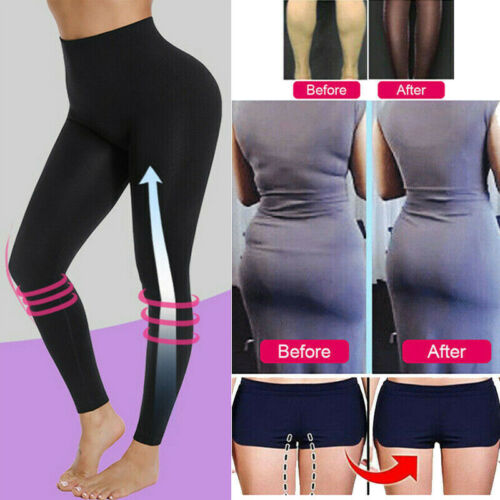High Waist Full Length Body Shapers Legging Thigh Slimmer Shapewear Body Shaper