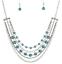 Blue Metro Modest Paparazzi Necklace