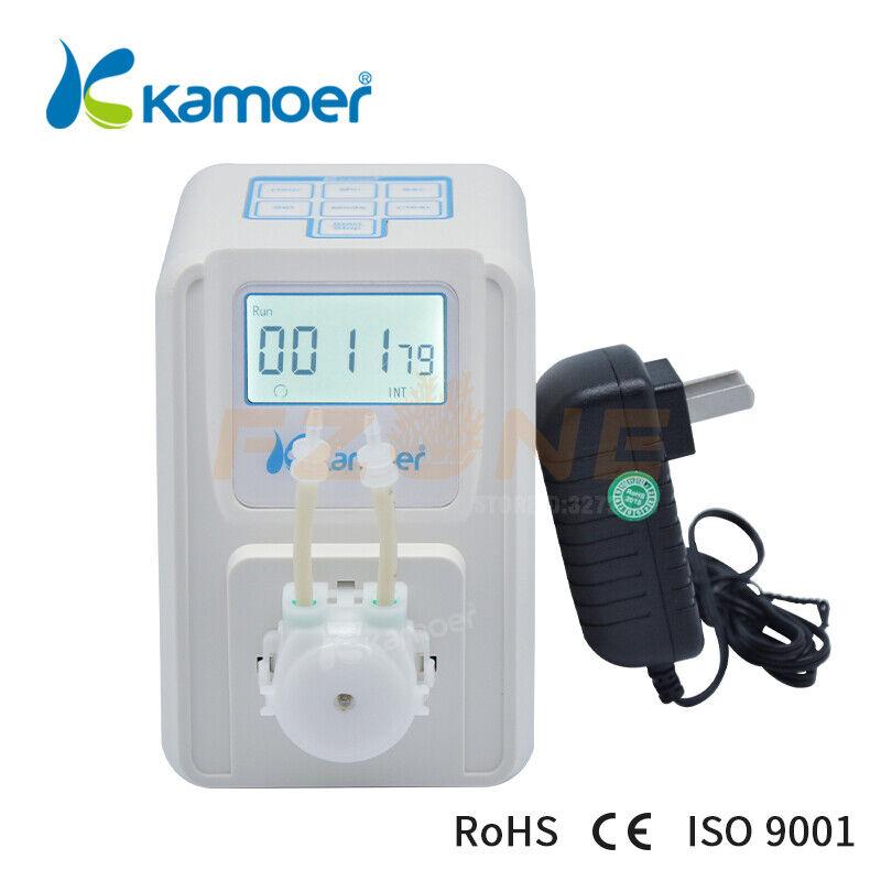 Kamoer 12V Peristaltic Metering Pump Aquarium Dosing Pump With LCD Screen