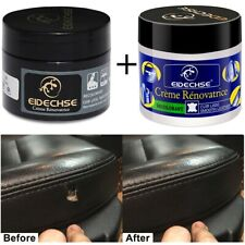 2 Pcs Kit Leather Repair Cream Seat Restore Couch Furniture Car Seat Sofa Shoes