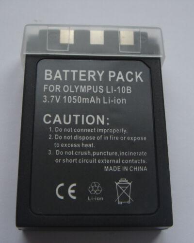 Battery Li-10b Li-12b for Olympus Stylus 810 800 600 new from France